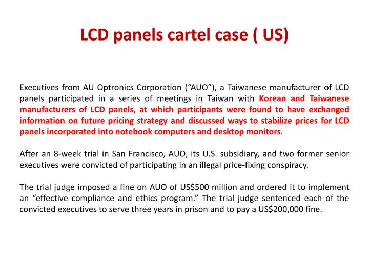 LCD panels cartel case ( US)