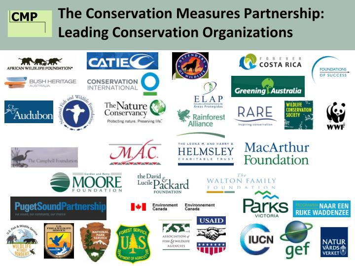 The Conservation Measures Partnership: