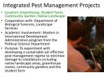 integrated pest management projects