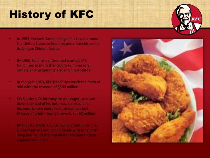 the uniqueness about kfc company