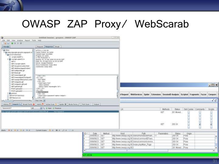 OWASP ZAP Proxy/