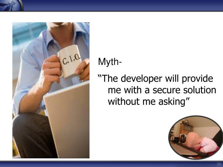 Myth-