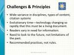 challenges principles