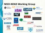 niso nfais working group