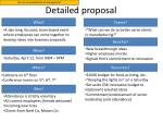 detailed proposal