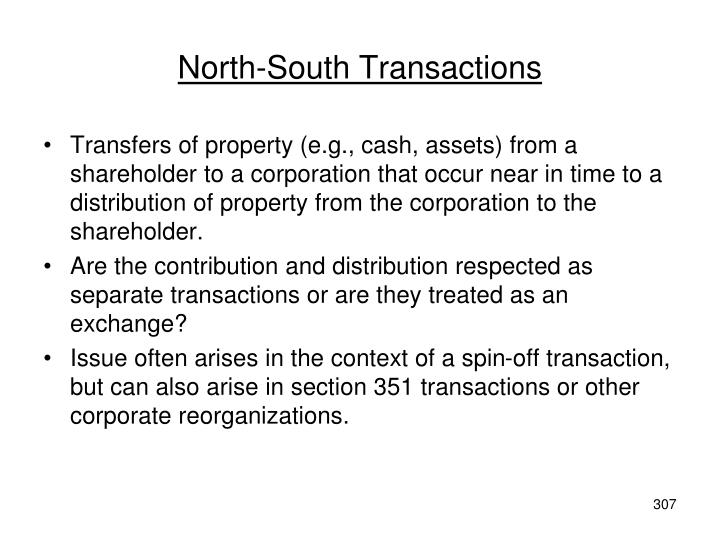 North-South Transactions