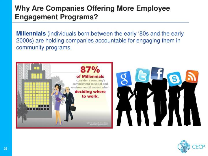 Why Are Companies Offering More Employee Engagement Programs?