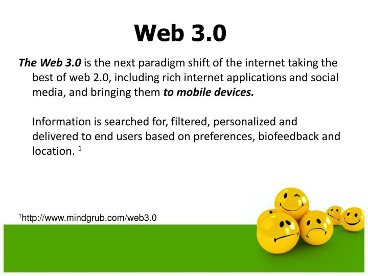 The Web 3.0