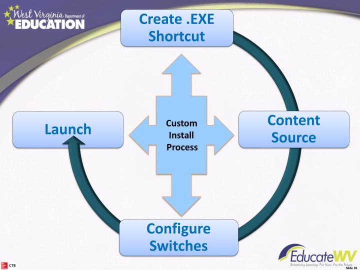 Create .EXE Shortcut