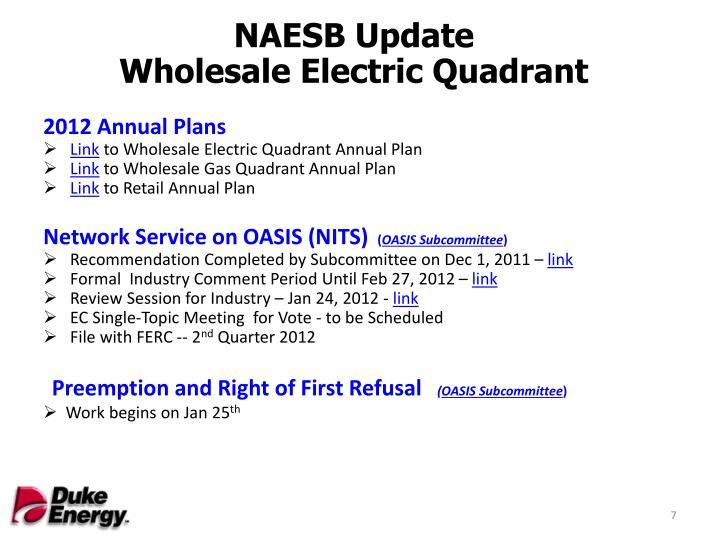 NAESB Update