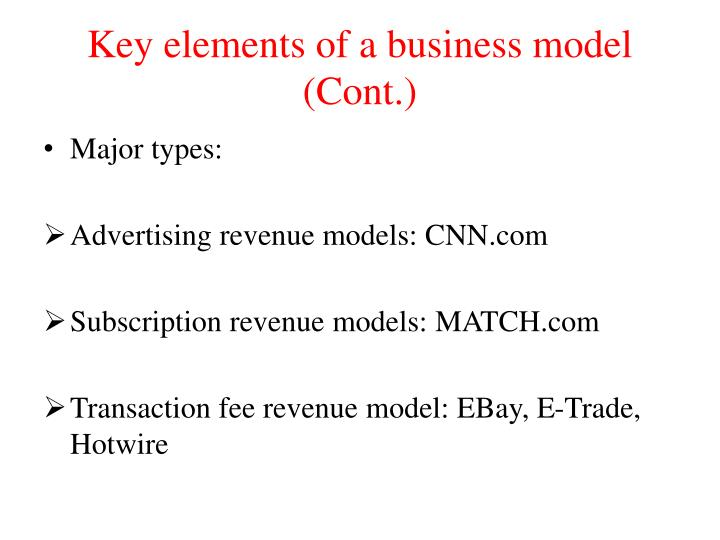 8 key element for a business model Makeready editorial home main navigation services work contact return to content eight key elements of a business model by megan on december 8, 2013 in.