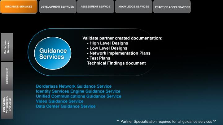 GUIDANCE SERVICES