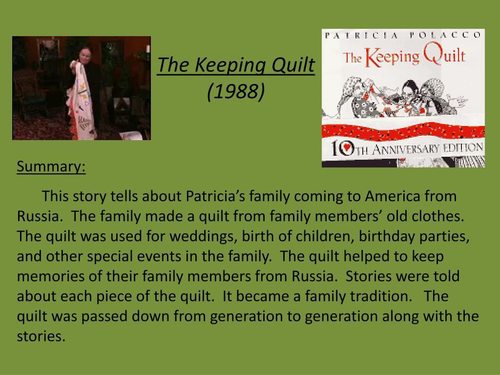 Ppt Patricia Polacco Powerpoint Presentation Free