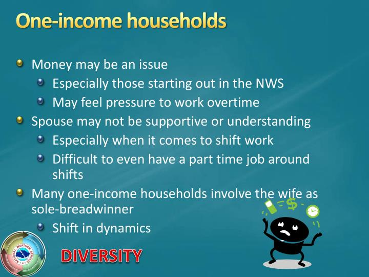One-income households