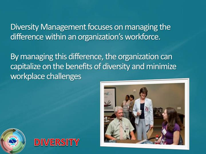 Diversity Management focuses on managing the difference within an organization's workforce.