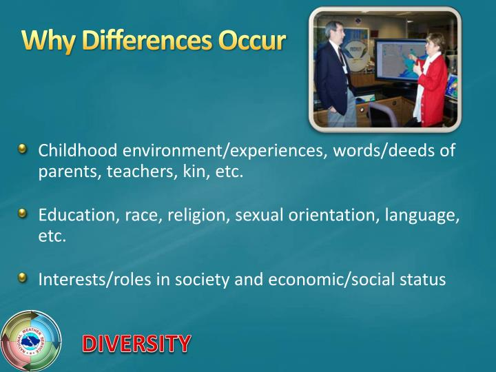 Why Differences Occur