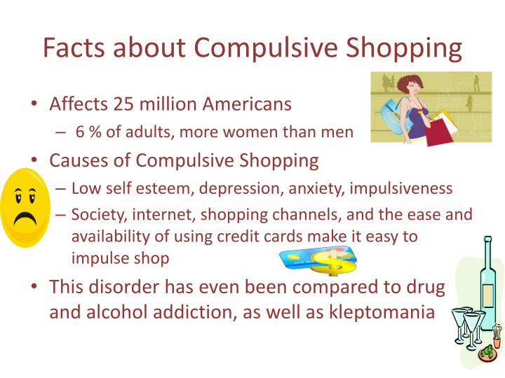 compulsive shoppers essay Mowen, j & spears, n understanding compulsive buying among college students: a hierarchical approach journal of consumer psychology, 8:407-430 1999.