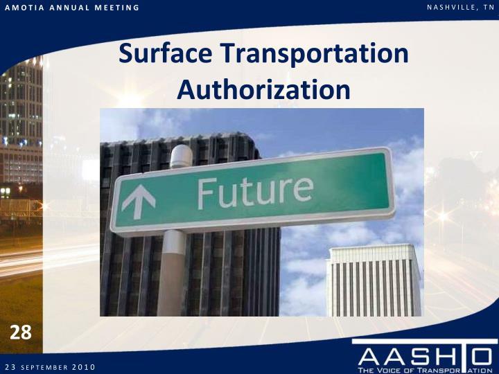 Surface Transportation