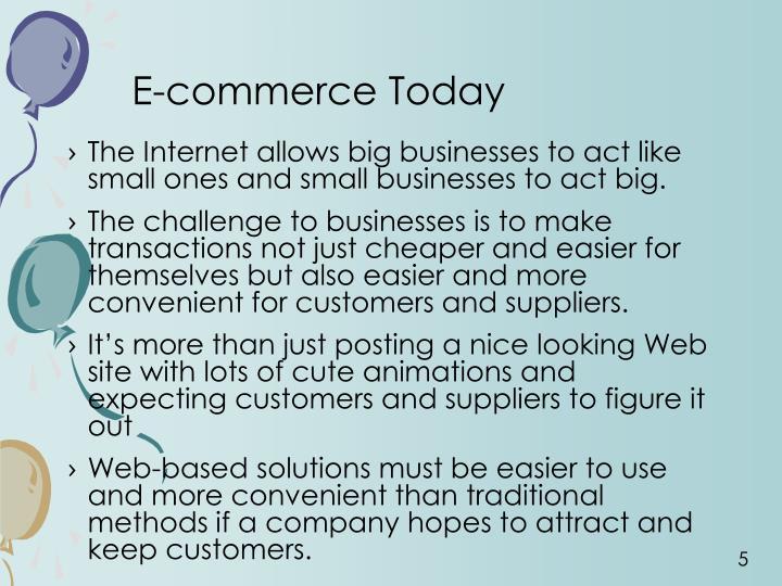 E-commerce Today