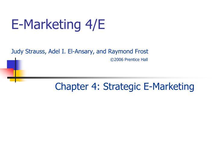 E-Marketing 4/E