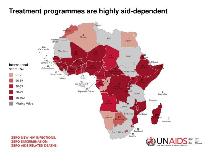 Treatment programmes are
