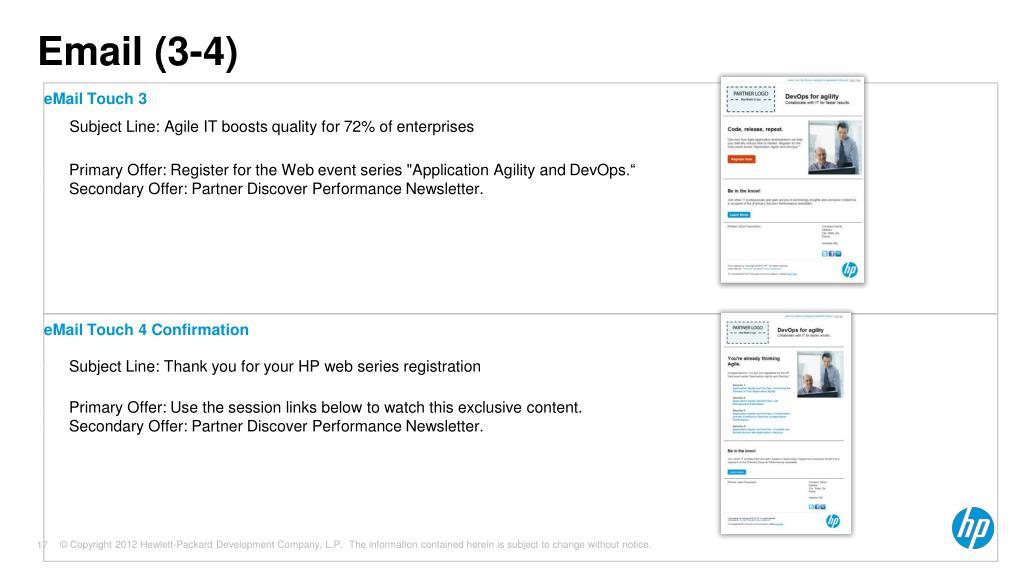 PPT - WW Partner Marketing November , 2012 PowerPoint