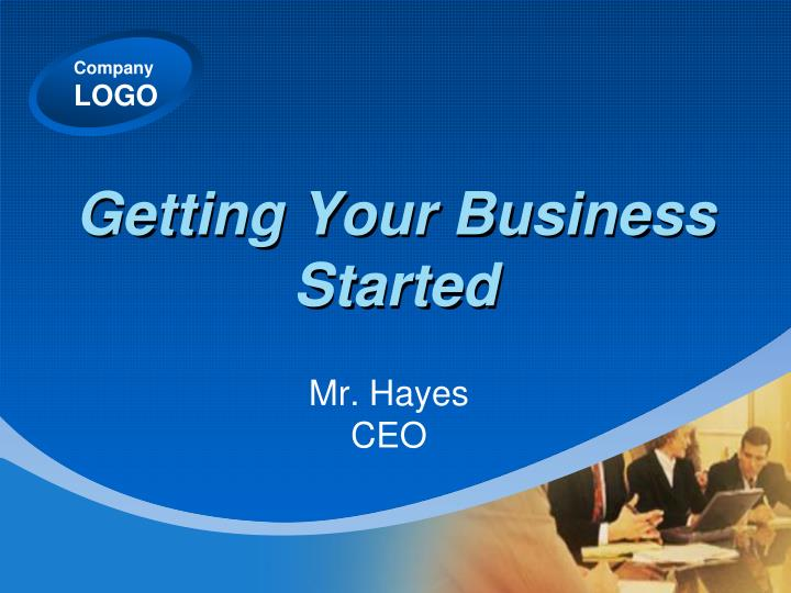 Getting your business started