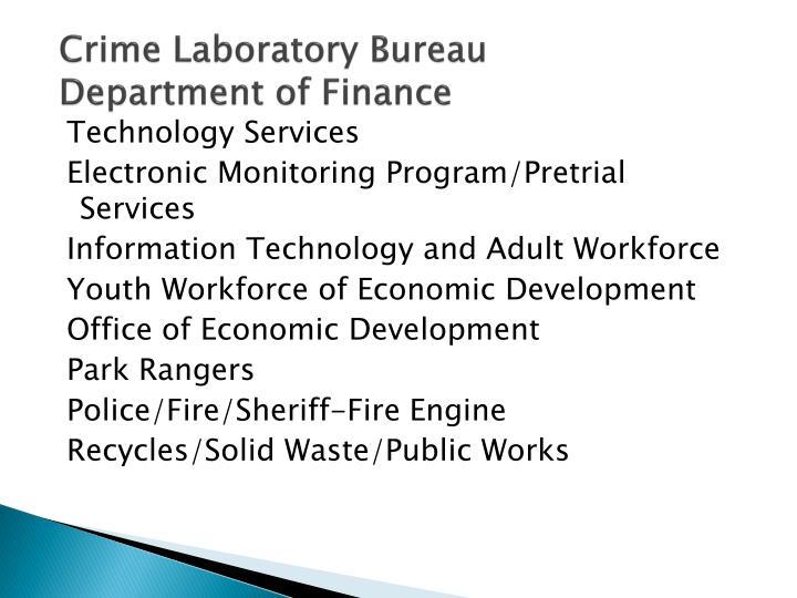 Crime Laboratory Bureau