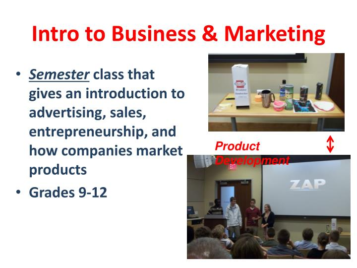 Intro to Business & Marketing