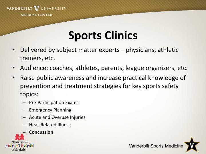 Sports Clinics