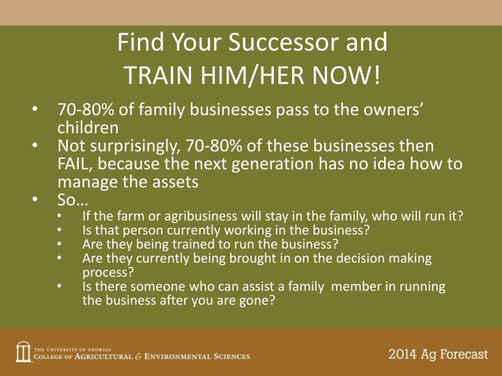 Find Your Successor and