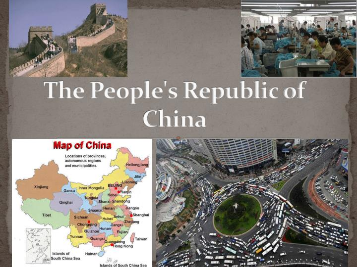 the people s republic of china n.