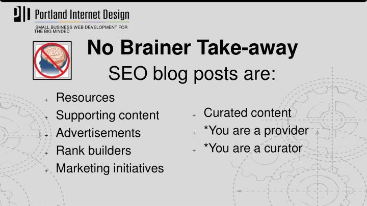 SEO blog posts are: