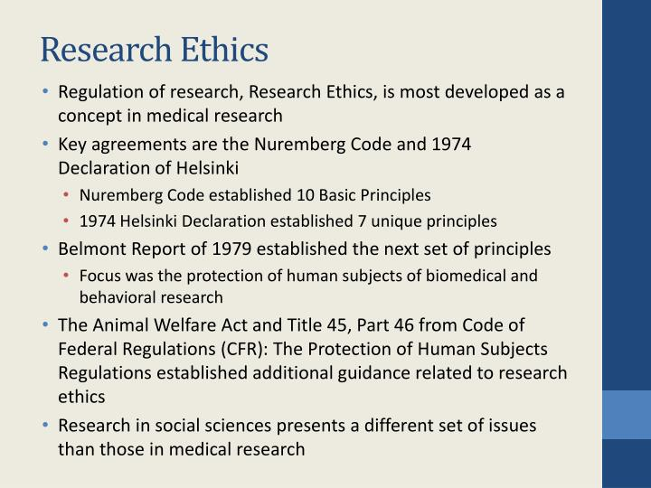 ethics of the nuremberg code The nuremberg code: hippocratic ethics and human rights evelyne shuster the tension between hippocratic medical ethics and human rights is perhaps nowhere better illustrated than by the nuremberg code the code was formulated in august, 1947, in nuremberg.