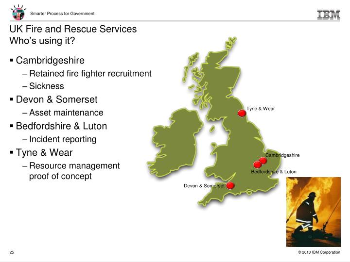 UK Fire and Rescue Services