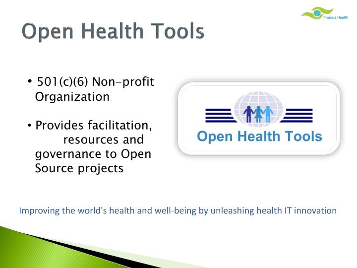 Open Health Tools