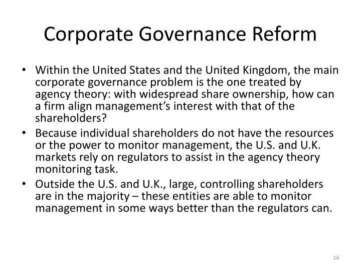 Corporate Governance Reform