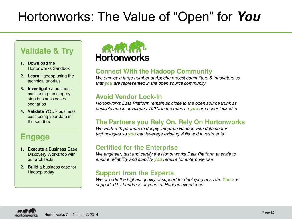 PPT - Hortonworks: We Do Hadoop  PowerPoint Presentation - ID:1688770
