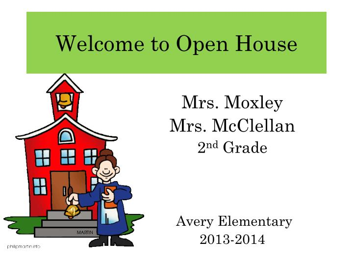 PPT Welcome To Open House PowerPoint Presentation ID 1688784