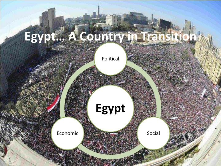 Egypt a country in transition