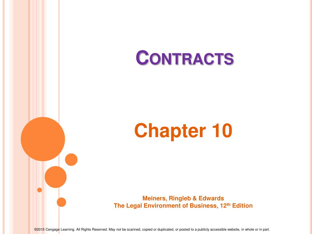 PPT - Contracts PowerPoint Presentation - ID:1688836