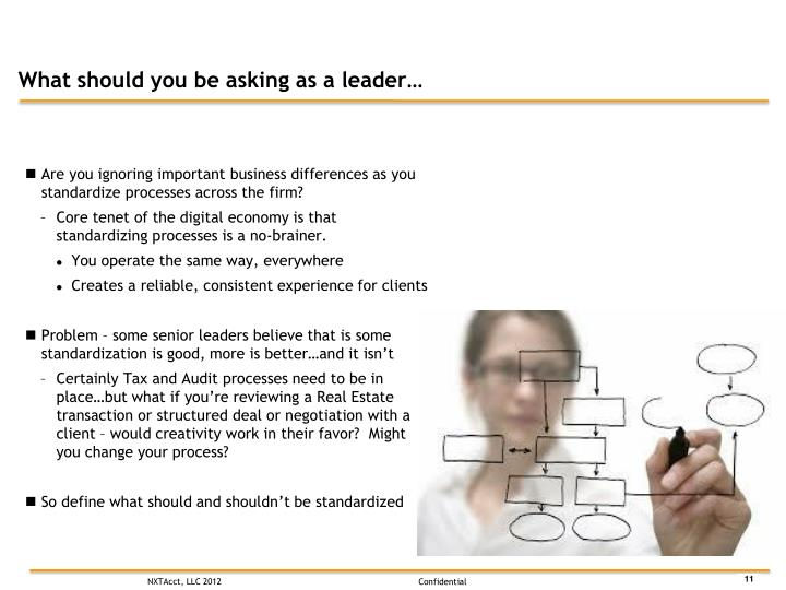 What should you be asking as a leader…