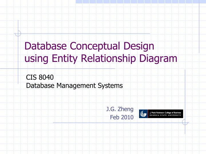 Ppt database conceptual design using entity relationship diagram database conceptual design using entity relationship diagram ccuart Images