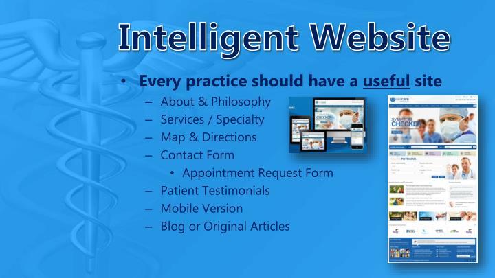 Intelligent Website