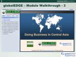 globaledge module walkthrough 3