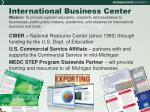 international business center