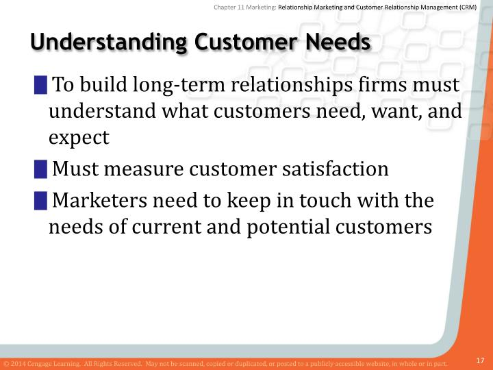 understanding customer relationships In this article, you'll learn about 1) the primary phases of the customer relationship life cycle, 2) how to measure success, and 3) it is important to remember.