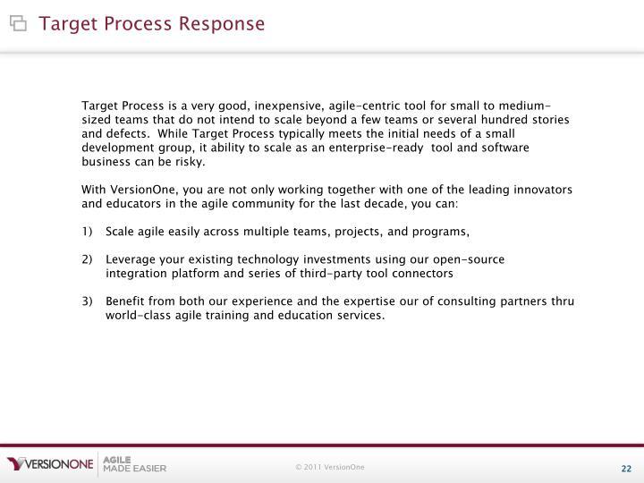 Target Process Response
