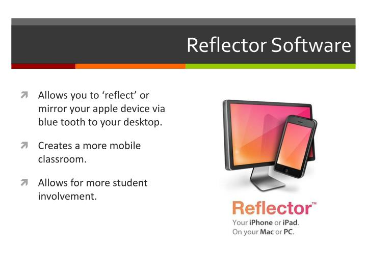 Reflector software