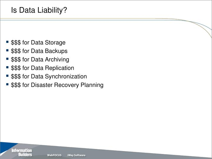 Is data liability